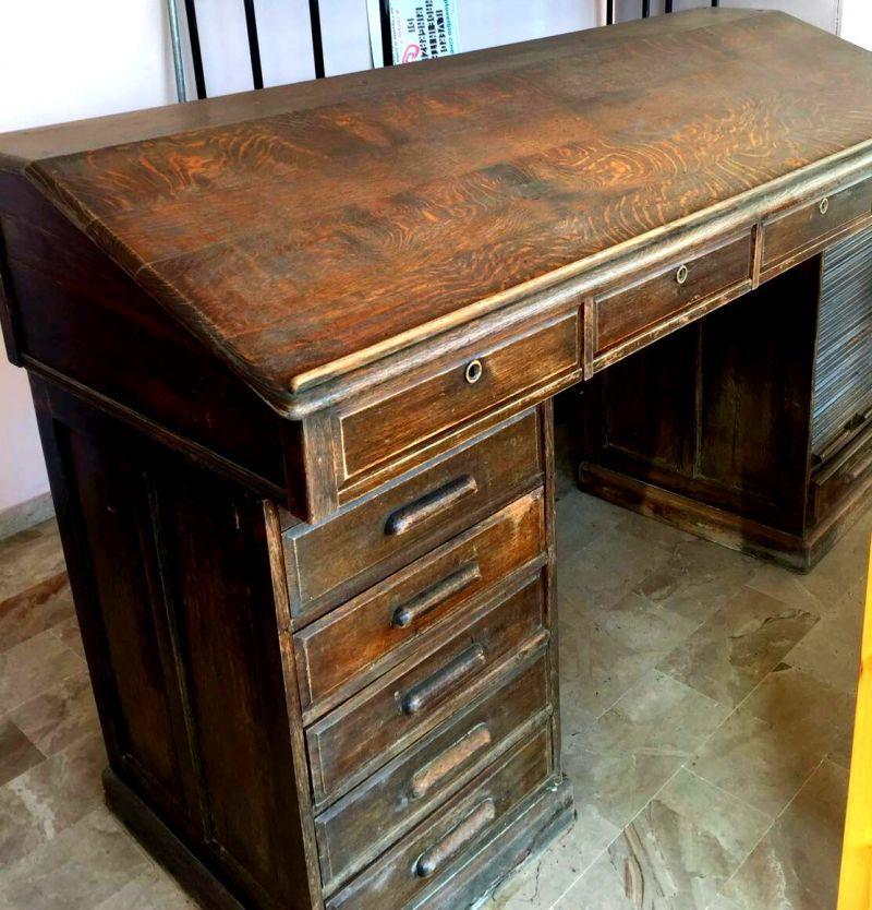 Vendo mobili in legno ufficio primi '900. 4