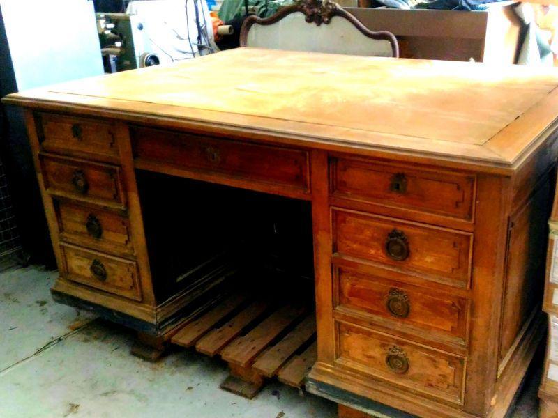 Vendo mobili in legno ufficio primi '900. 6