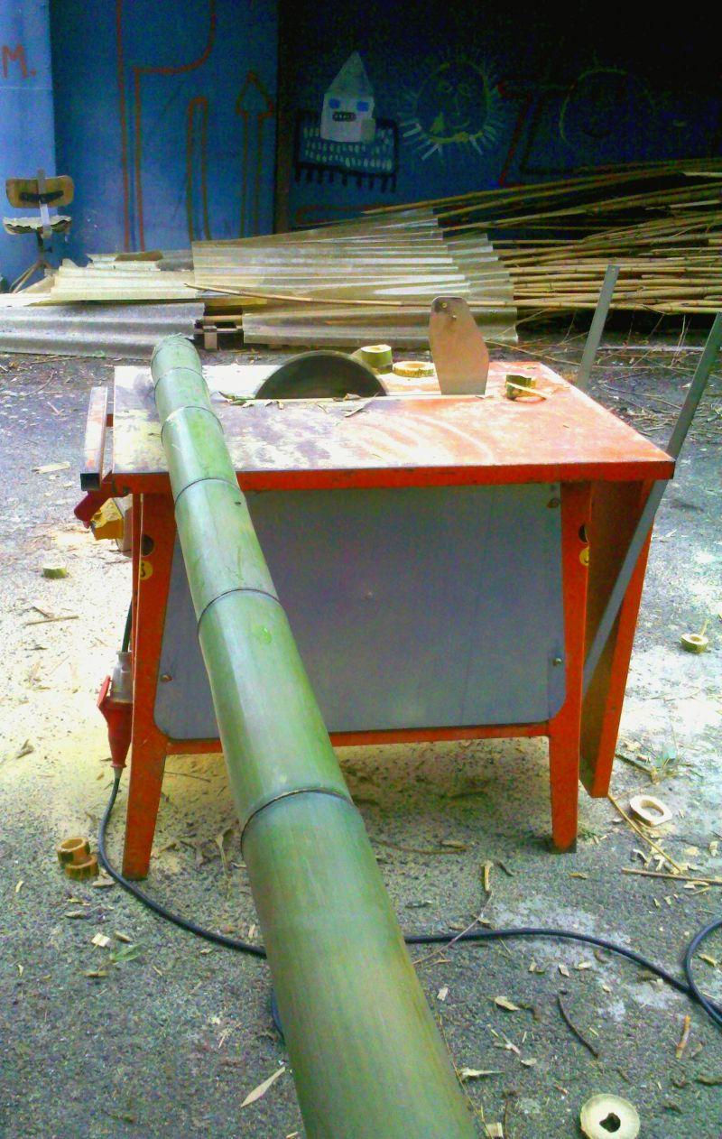 In vendita canne di bambu con diametri da 1 a 10 cm. 6