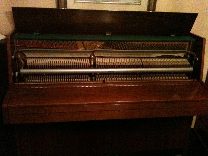Pianoforte a muro mahler 5