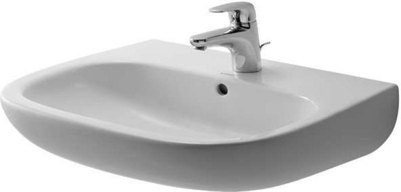 Lavabo da bagno sospeso semicolonna Duravit 1