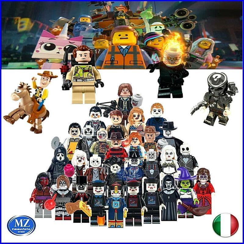 Lego Minifigures compatibili serie tv cartoni animati film spettacolo videogames 1