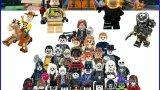 Lego Minifigures compatibili serie tv cartoni animati film spettacolo videogames