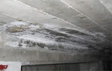 umidità nelle costruzioni: formazione di sali di salnitro