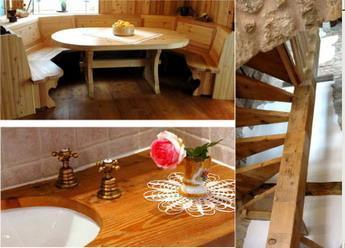 Il legno usato nell'arredamento: la possibilità di realizzare oggetti diversi