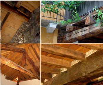 Il legno usato nell'arredamento: il legno antico nel restauro di vecchie strutture