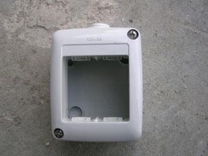 Impianto elettrico esterno - Prese elettriche da esterno ...