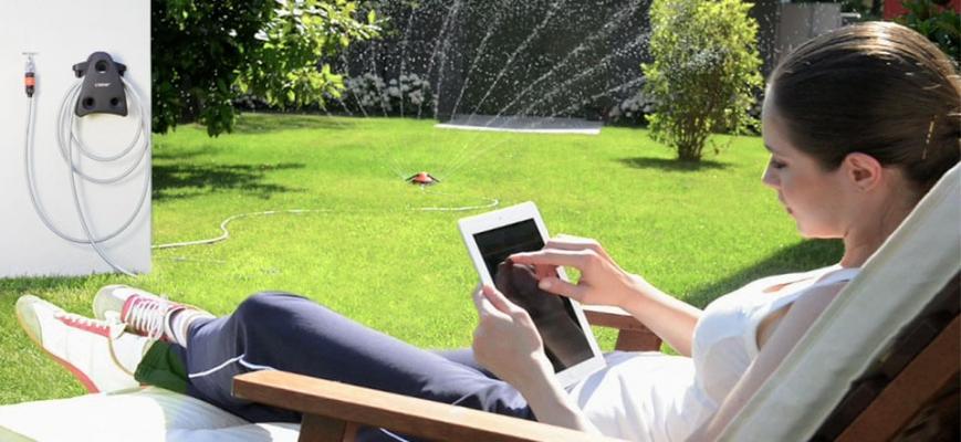 Irrigazione fuoriterra di Claber