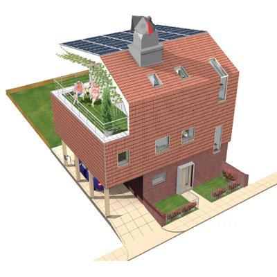 casa prefabbricata RuralZed