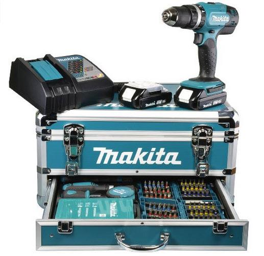 Trapano avvitatore con kit completo Makita in vendita su AMAZON