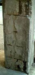 Le indagini strutturali sugli edifici:un pilastro degradato