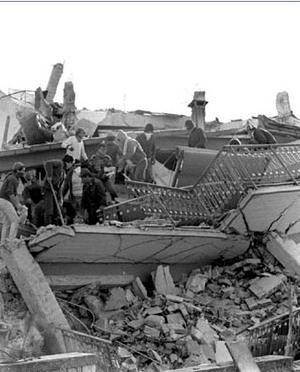 Le indagini strutturali sugli edifici: crolli dovuti al sisma
