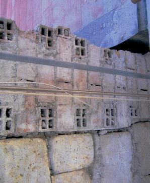 Murature a rischio: muratura disomogenea