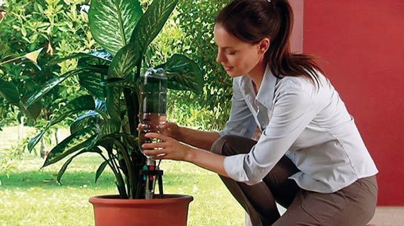 Sistema d'irrigazione piante da interno IDRIS