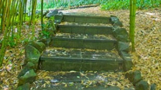 Gradini in giardino - Scale da giardino ...