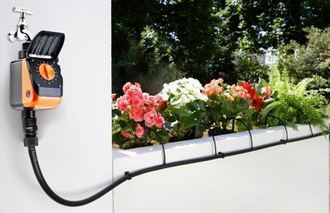 Irrigazione piante da balcone primaverili