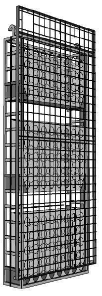 Pareti come giardini verticali: La struttura del pannello Vertical