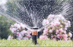 impianto di irrigazione interrata