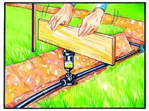 Collaudo impianto di irrigazione interrata