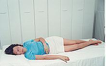 Un cuscino per un sonno rilassante: una posizione corretta per un sonno benefico