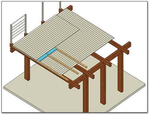 Casa moderna roma italy come costruire una scala in - Soppalchi in legno per camere da letto ...