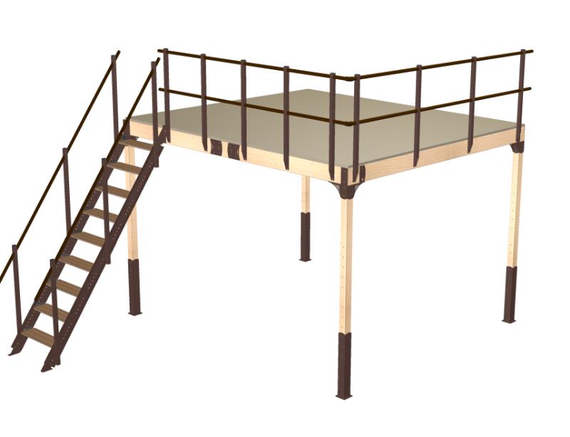 Costruire un soppalco in legno