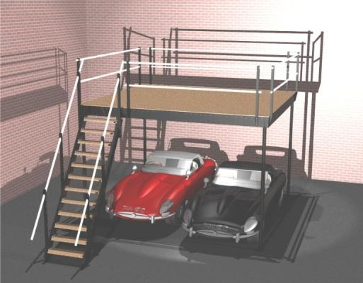 Il soppalco for Aggiunta in cima al garage