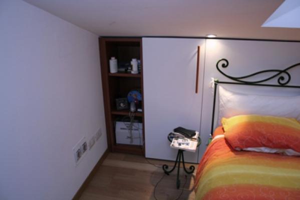 Cabina armadio dietro letto finest progetto di cabina armadio realizzato da ivan saccomanii - Cabina armadio dietro il letto ...