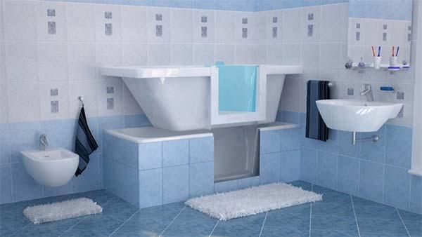 Sovrapposizione vasche da bagno - Vasca da bagno muratura ...