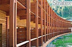 Stratex spa - Complesso residenziale strutture in legno lamellare a Pregelato Torino