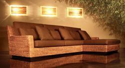 Bambù Design, divano Antea