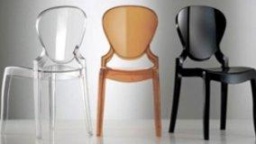 Sedie moderne, design barocco