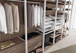 Cabine armadio - Strutture per cabine armadio ...