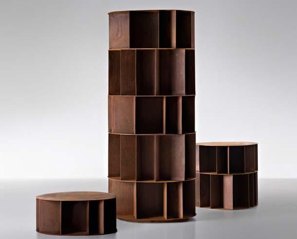 Libreria in legno Existance di DeCastelli
