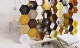 Libreria componibile modello Honey-Way di Officinanove
