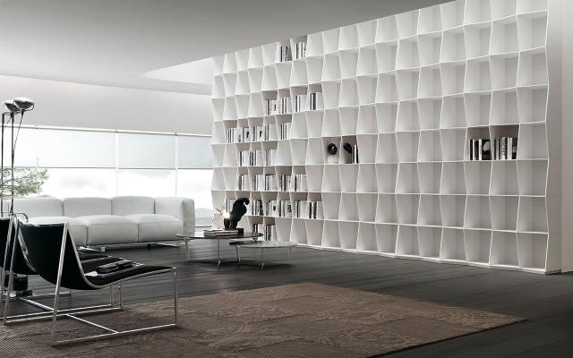 Libreria Wavy di Alivar