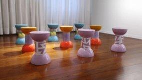 Tavoli in ceramica