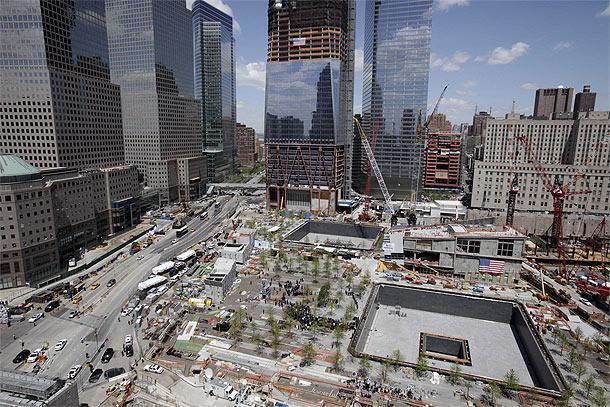 Ground Zero il cantiere