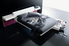 Letti e divani sospesi nell 39 aria for Struttura letto sospeso
