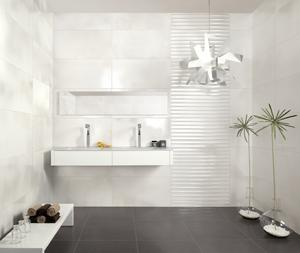 Bagno Con Piastrelle Bianche Bilder Pictures to pin on Pinterest