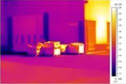 Visione attraverso una camera termografica