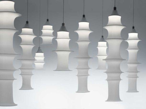 lampada Falkland di Bruno Munari, per Danese