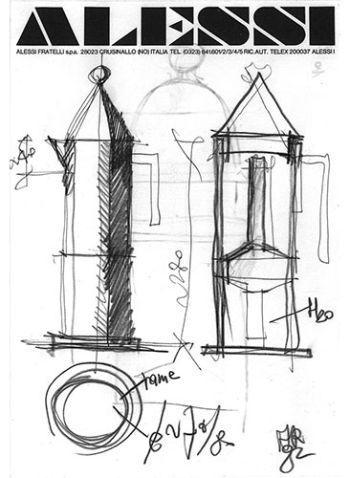 disegno di Conica di Alessi