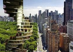Ambientazione di Stairscraper a New York