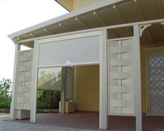 Barriere frangivento per terrazzo installazione climatizzatore - Gazebo terrazzo vento ...