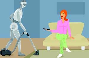 La Casa del Futuro: robot domestico