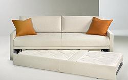 Il comfort dei divani letto: Teseo aperto