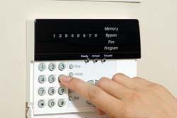 Tastiera di comando allarme