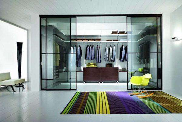 Progettazione di una cabina armadio - Camera da letto con cabina armadio ...