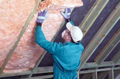 Isolamento termico del tetto - Materiale isolante termico ...